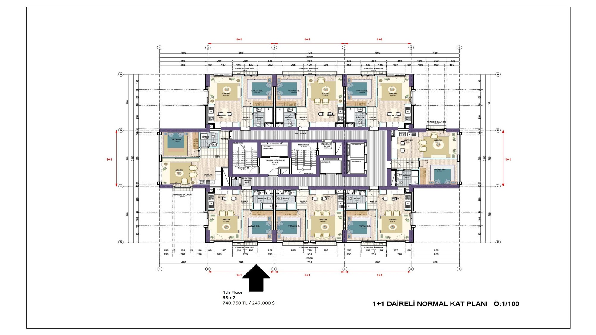 Marvelous 2000 Sq Ft House Plans One Story 1